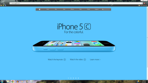 iPhone wallpaper called iPhone 5c Blue apel, apple Homepage