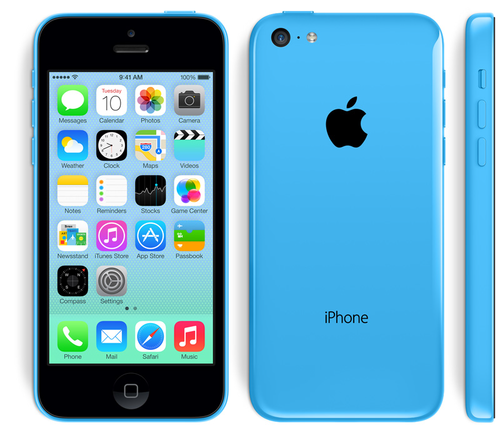 iPhone wallpaper titled iPhone 5c Blue