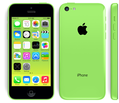 iPhone wallpaper entitled iPhone 5c Green
