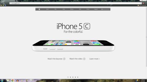 iPhone wallpaper called iPhone 5c White mela, apple Homepage