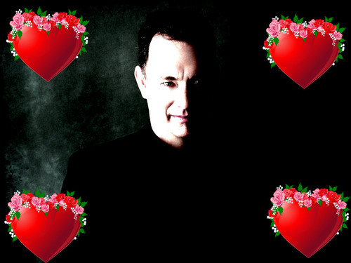 Tom Hanks wallpaper possibly containing a bouquet and a meteorological balloon called if tom hanks were edward cullen