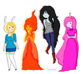 ladies of AT - flame-princess photo