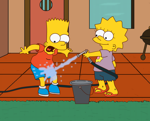 Lisa Simpson achtergrond with anime entitled lisa