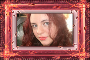 me red head frammed