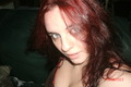 me showing off my red hair :D