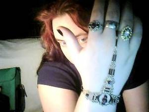 my গথ দেশীয় ring/braclete