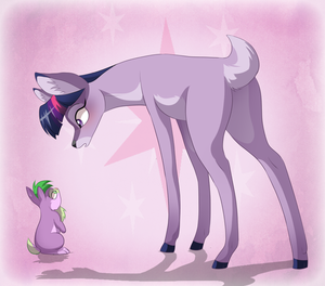 my little deer___twilight sparkle