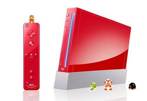 Nintendo Wii wallpaper titled super mario bros. nintendo red wii