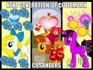 the susunod generaiton of cutie mark cusanders
