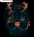this is my design  - hugh-dancy fan art