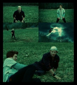 Edward&Emmett,twilight baseball scene