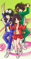乱马1/2 Akane, Ryoga, and Mousse - ranma-1-2 fan art