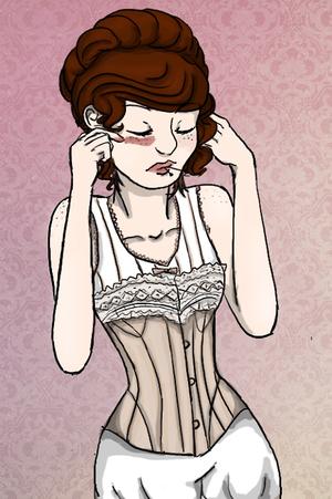 """Aaaah, screw those corsets...."""