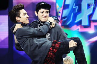 D.O Hintergrund containing a konzert entitled ♥ D.O & Chanyeol! ♥