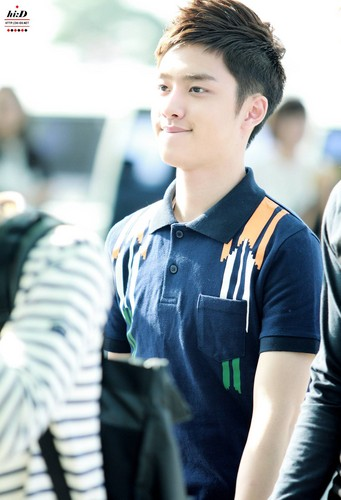 D.O Hintergrund probably containing uniform, regimentals, and a green baskenmütze entitled ♥ D.O! ♥