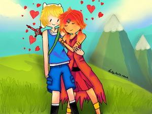 ★ Finn and Flame Princess ★