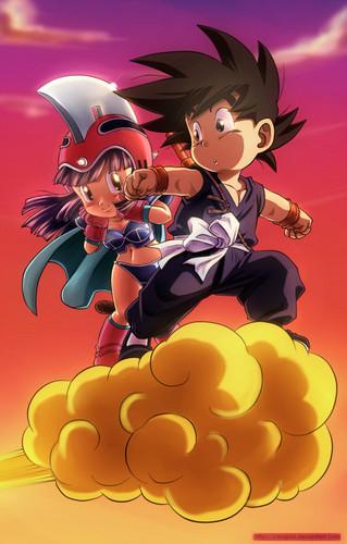 Dragon Ball Z wallpaper entitled *Goku*