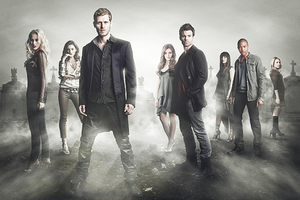 (S5) The Vampire Diaries and (S1) The Originals promotional poster.