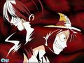 *Shanks & Luffy* - one-piece wallpaper