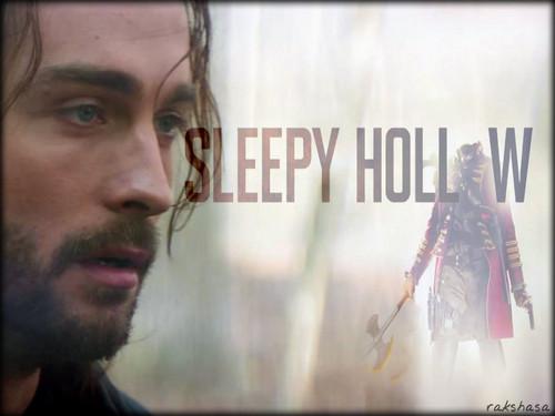 Sleepy Hollow (TV Series) karatasi la kupamba ukuta probably with a sign and a portrait entitled ★ Sleepy Hollow ☆