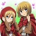☤SnK☤(Armin & Christa)