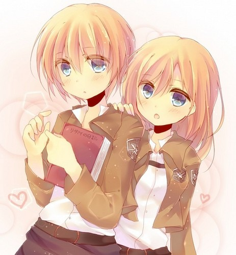 Ataque dos Titãs - Shingeki no Kyojin wallpaper titled ☤SnK☤(Armin & Christa)