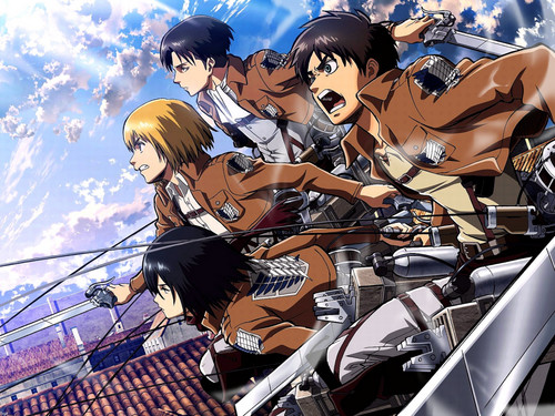 Shingeki no Kyojin (Attack on titan) wallpaper titled ☤SnK☤(Attack on Titan)