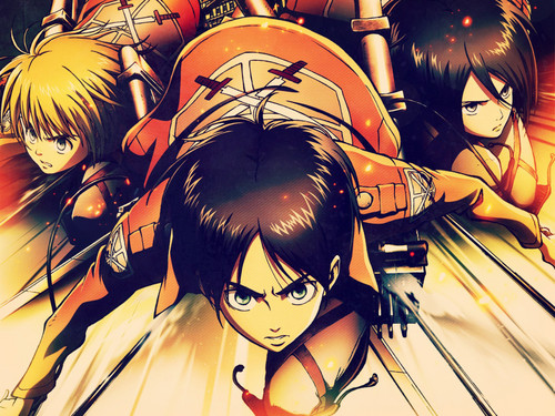 Shingeki no Kyojin (Attack on titan) wallpaper containing anime titled ☤SnK☤(Attack on Titan)