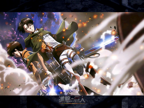 Shingeki no Kyojin (Attack on Titan) Hintergrund titled ☤SnK☤(Attack on Titan)