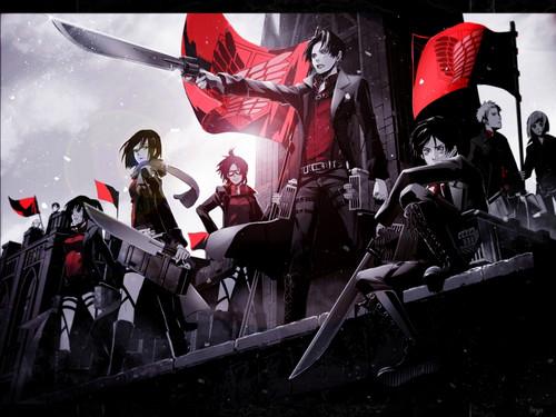 Shingeki no Kyojin (Attack on titan) wallpaper entitled ☤SnK☤(Attack on Titan)