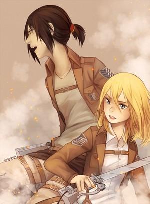 ☤SnK☤(Christa & Ymir)