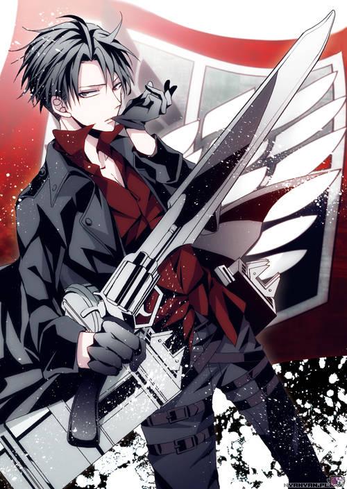 Levi Ackerman -SnK-Levi-anime-loverz-35693419-500-705