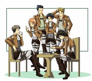 ☤SnK☤(Levi's Squad)