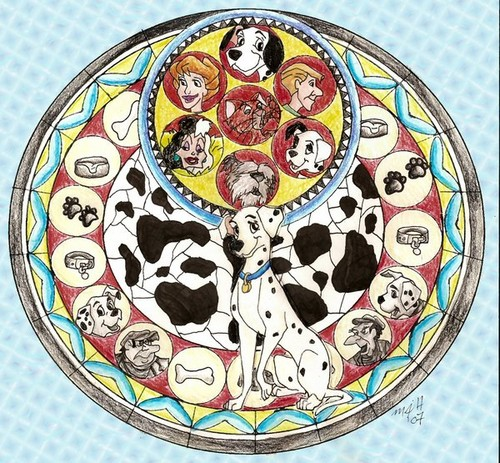 101 Dalmatians wallpaper entitled 101 dalmations
