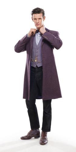 Doctor Who wallpaper probably containing a well dressed person and a business suit entitled 11th Doctor Outfits :)