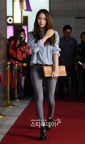 130927 f(Krystal) - Vogue Fashion Night Out