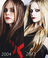 2004/2013 - avril-lavigne fan art