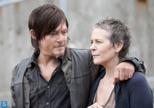4X1 30 Days Without An Accident Screensot - Daryl and Carol