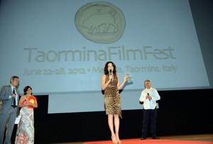 58th Taormina Film Fest - 'Città di Taormina' Award [June 25, 2012]