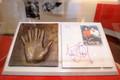 Michael's Hand Print - michael-jackson photo