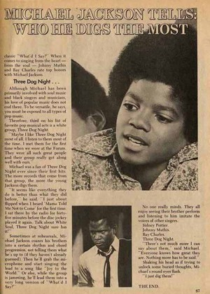 A Magazine articolo Pertaining To Michael