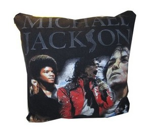 A Vintage Michael Jackson Throw oreiller