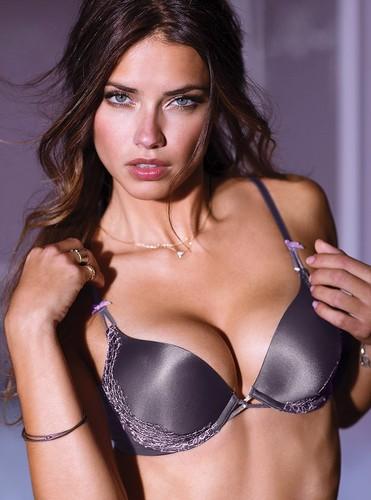 Adrianna Lima Bandeau Bikini