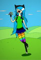 Adventure time style riley ^^ - total-drama-island-fancharacters photo