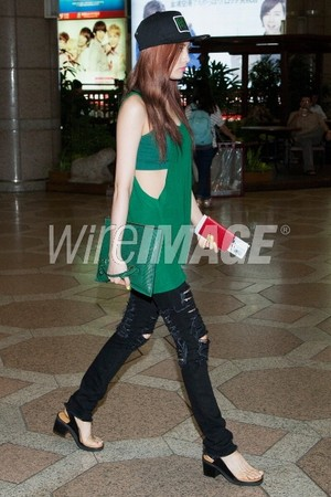 After School at GIMPO departure to Jepun