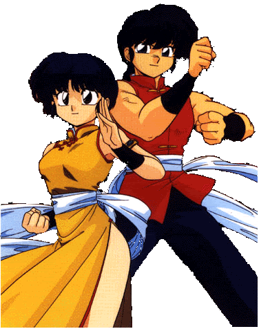 Animated Couples karatasi la kupamba ukuta possibly containing anime titled Akane Ranma