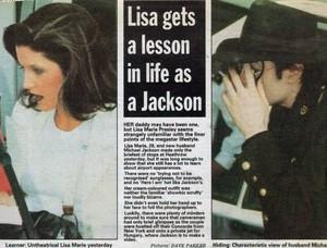 An artigo Pertaining To Michael And Lisa Marie
