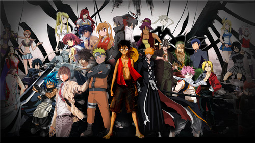 anime Universe achtergrond called anime Characters