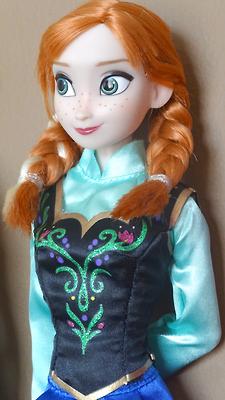Anna disney Store doll