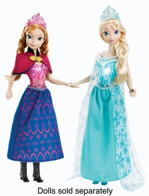 Anna and Elsa muñecas